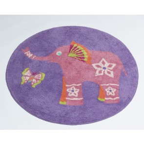 Jiggle & Giggle Peacock Princess Floor Rug