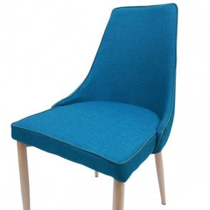 6ixty Martin Chair (Steel Blue)