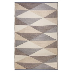 Monaco Champagne Beige Outdoor Rug by FAB Rugs