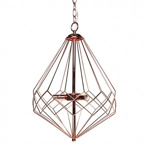 Cafe Lighting Portland Pendant Light Copper