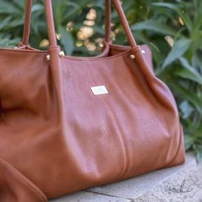 Amber Anakie Satchel nappy bag by isoki