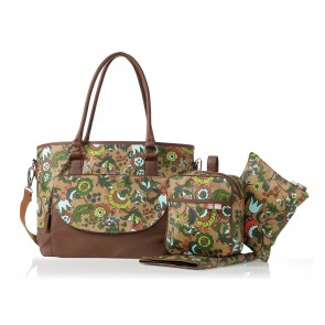 Ginger Bloom Carry All Tote nappy bag by isoki