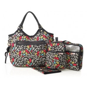 Jewel Reversible Hobo nappy bag by isoki