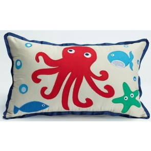 Jiggle & Giggle Sea Creatures Oblong Cushion