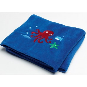 Jiggle & Giggle Sea Creatures Fleece Throw Rug