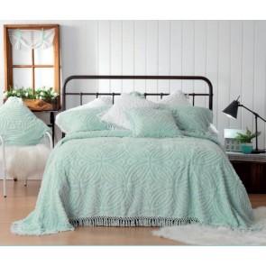 Bianca Kalia Soft Blue Bedspread Set