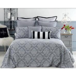 Bianca Fleur Grey Bedspreads Set