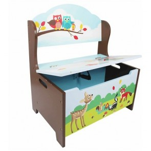 Teamson Enchanted Woodland Storage Bench