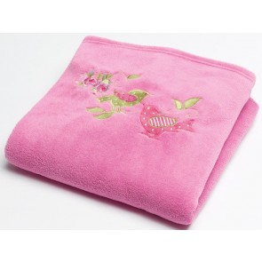 Jiggle & Giggle Shabby Chic Fleece Throw Rug