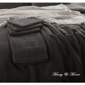 Macey & Moore French Linen King Sheet Set