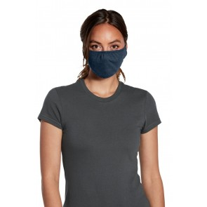 5 Pack Heather Navy V.I.T Shaped Face Mask by Chef Works