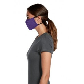 5 Pack Heather Purple Reusable V.I.T Shaped Face Mask by Chef Works