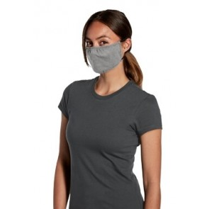 5 Pack Light Heather Grey Reusable V.I.T Shaped Face Mask by Chef Works