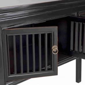 Black Calais Wooden Console by Alexander Santorini