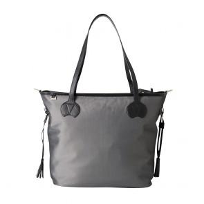 OiOi MicroCheck Tote Nappy Bag