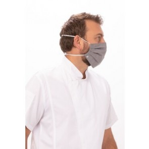 6 Pack Grey Skild Seriec FC3 Face Covering by Chef Works