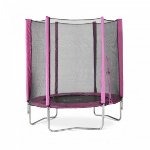 6ft Junior Trampoline and Enclosure Pink