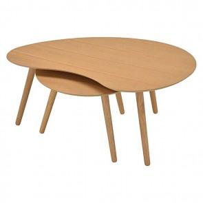 6ixty Art Round Table in Oak