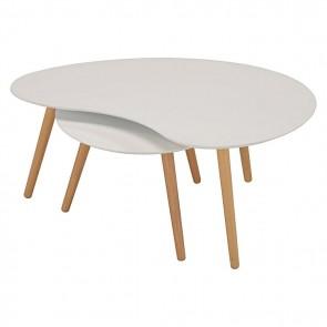 6ixty Art Round Table White