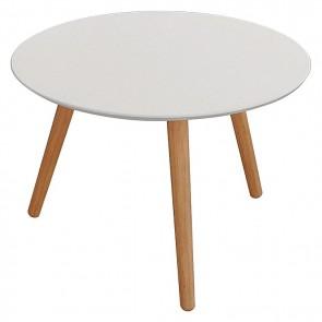 6ixty Art Round Table, White