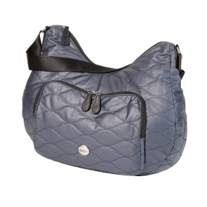 OiOi Cotton Quilt Pocket Slouch Hobo Bag