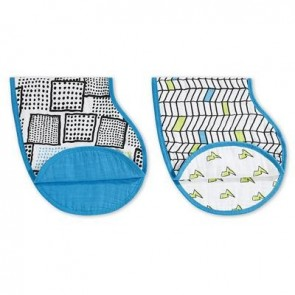 Aden and Anais Whiz Kid 2 Pack Classic Burpy Bibs