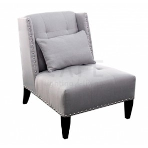 Cafe lighting Duke Arm Chair Glacier Grey