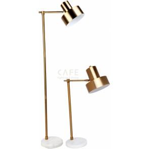Cafe Lighting Marlin Gold Floor Lamp