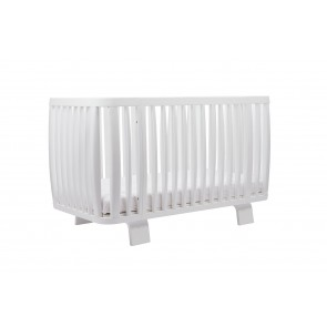 Bloom Retro Cot Coconut White