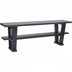 Cafe Lighting Blaine Console Table - Black