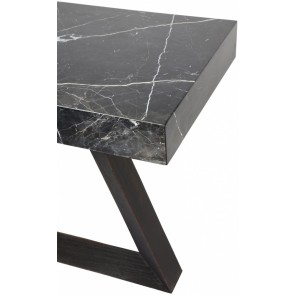 Cafe Lighting Ebony Console Table - Black
