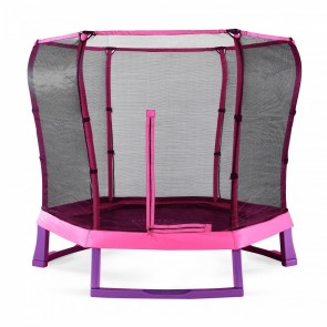 7ft Junior Jumper Pink Trampoline