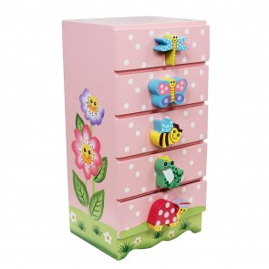 Teamson Magic Garden Trinket Chest