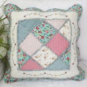 Macey & Moore Tuscany Blue Cushion Cover