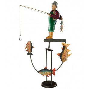 Fly Fisherman Sky Hook by AM Living