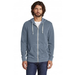 Alternative Burnout Laid-Back Zip Hoodie