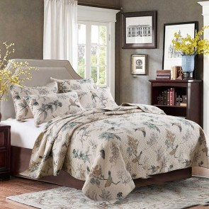 Macey & Moore Abbey Bird Coverlet