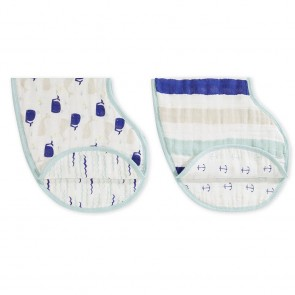 Aden and Anais High Seas 2 Pack Classic Burpy Bibs