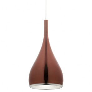 Aero Rose Gold Pendant Light
