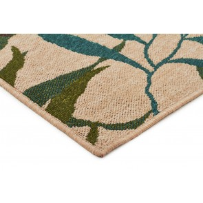 Alfresco 6502 Blue Green By Rug Culture
