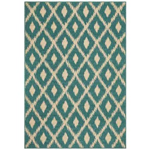 Alfresco 6505 Turquoise By Rug Culture