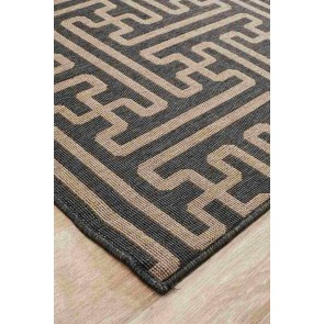 Alfresco 6506 Charcoal By Rug Culture