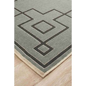 Alfresco 6507 Teal By Rug Culture
