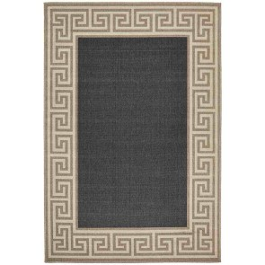 Alfresco 6508 Charcoal By Rug Culture
