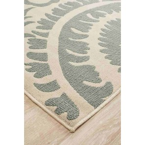 Alfresco 6509 Teal By Rug Culture