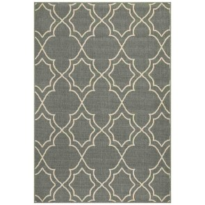 Alfresco 6510 Teal By Rug Culture