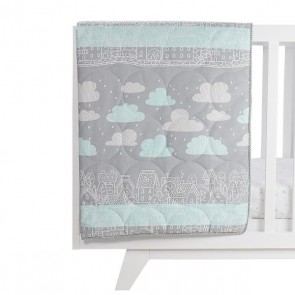 My City All Seasons Cot Quilt by Lolli Living