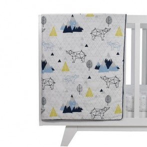 Traveller All Season Cot Quilt by Lolli Living