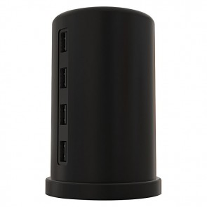 ALLDOCK Charging Tower Set, Black
