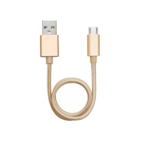 Android Micro 30cm Cable Gold by Alldock